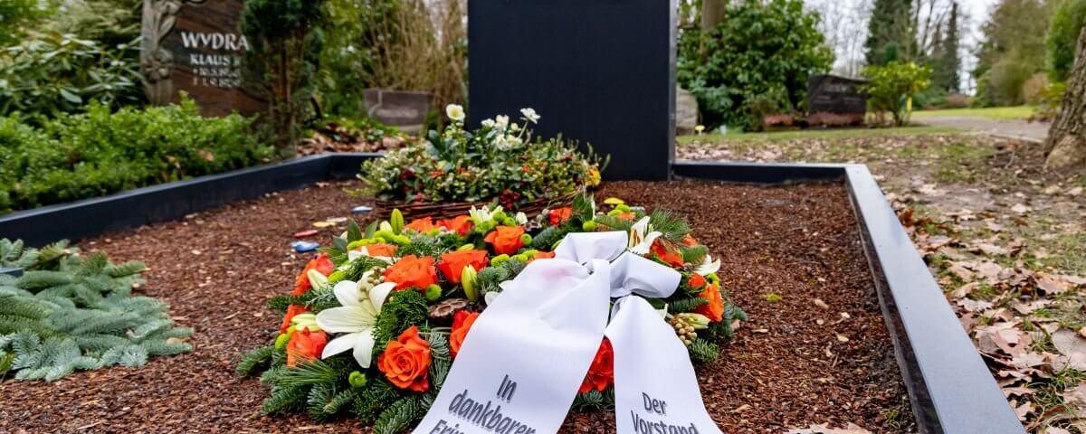 Grab von Prof. Dr. Wolfgang Heit, Essen-Kettwig