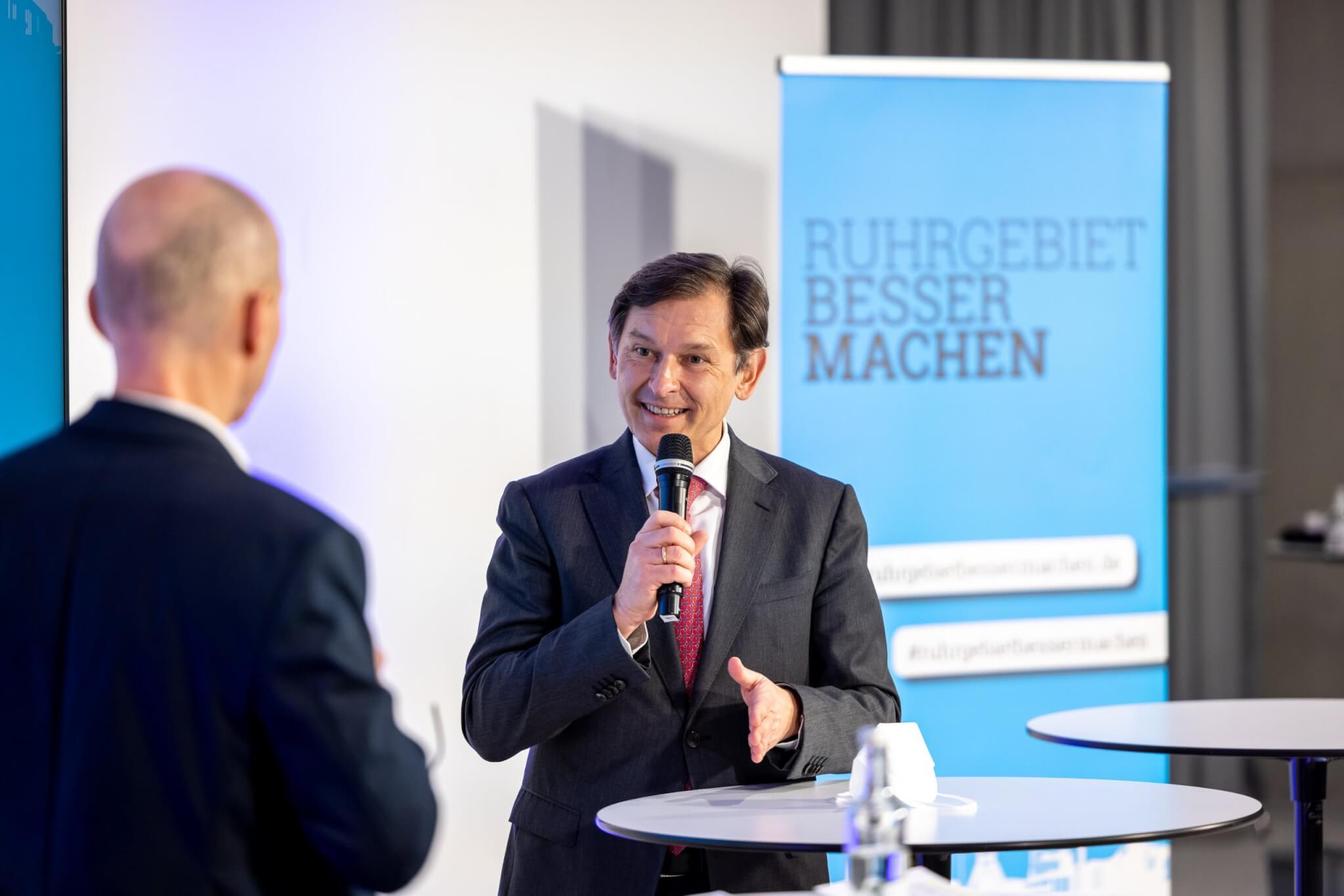 Dr. Frank Dudda, Oberbürgermeister von Herne