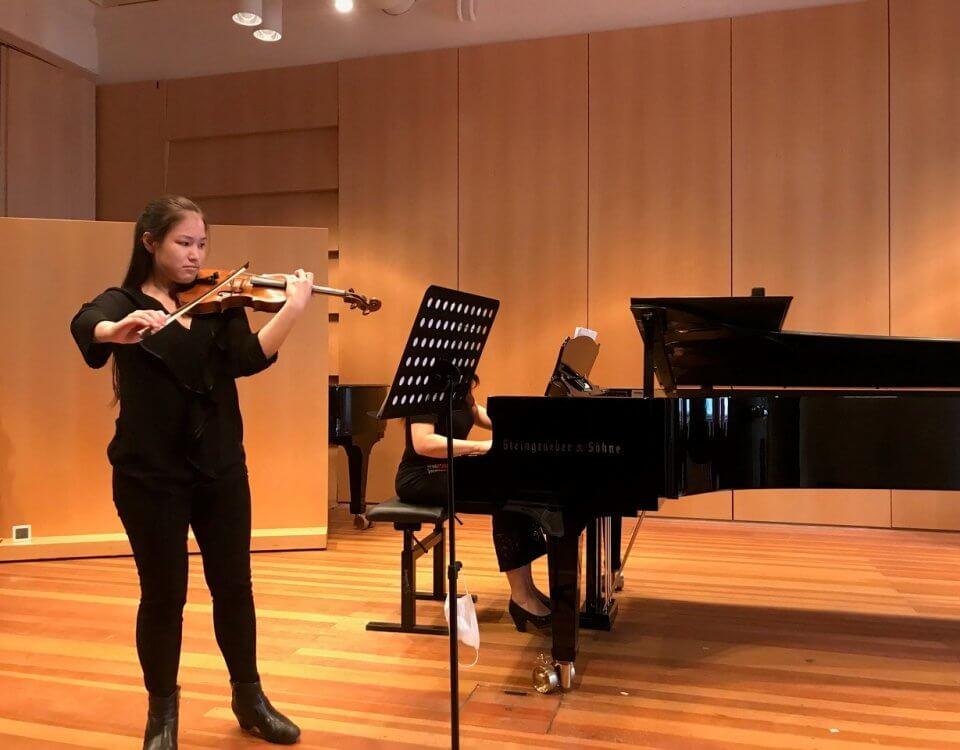 Celina Nenninger legte ihre Jahresprüfung erfolgreich ab