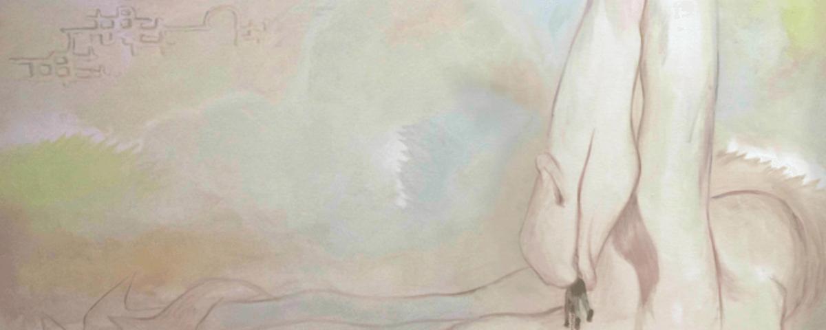 Alison Yip: Posession, 2020, Öl auf Leinwand, 216 x 242 cm