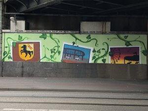 Der Tunnel nach Wanne-Eickel in frischen bunten Farben. Foto: Franziska Klein